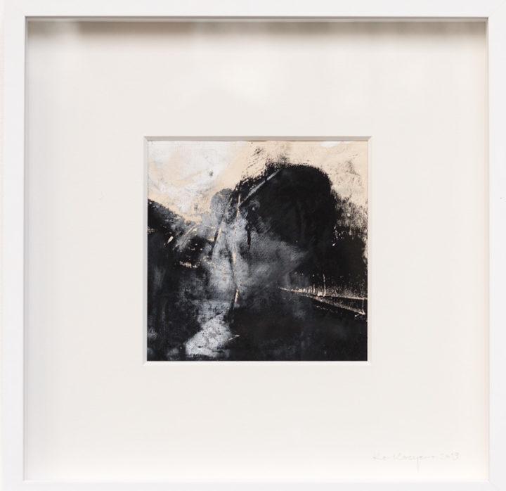 Abstraktes Bild Explosion