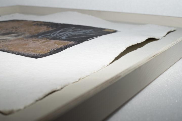 Abstraktes Bild Kalligraphie